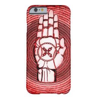 Red Oracle Hand Art Barely There iPhone 6 Case