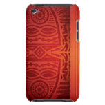 Red & Orange African Pattern Design Barely There iPod Case