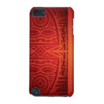 Red & Orange African Pattern Design iPod Touch 5G Cover
