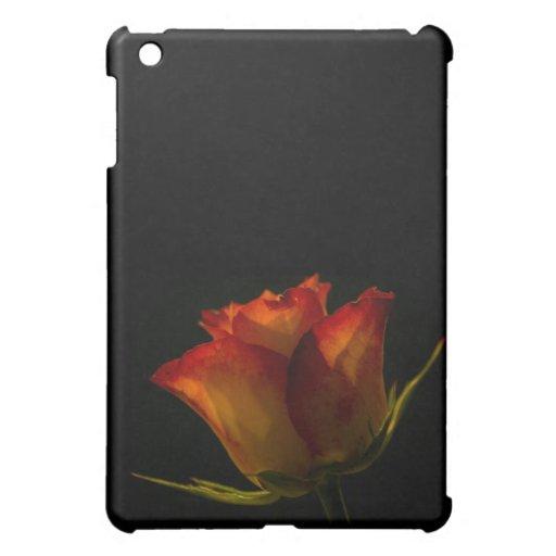 Red Orange and Yellow Rose iPad Mini Cases