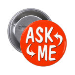Red/Orange Ask Me Button / Arrows