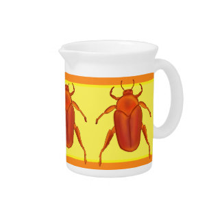 Red-Orange Beetle Pitcher