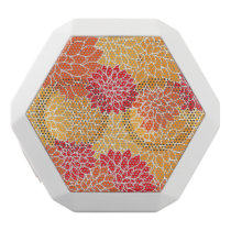 Red/Orange Floral Pattern Boombot Rex Speaker