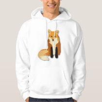 Red Orange Fox Hoodie