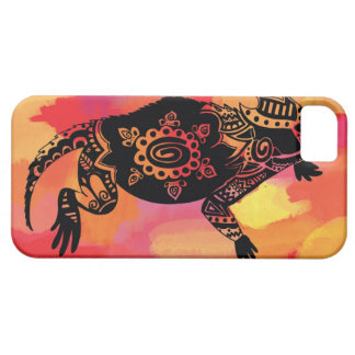 Red & Orange Horned Frog iPhone 5 Covers