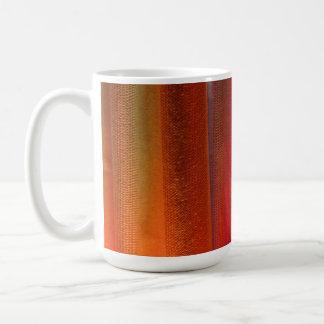 Red Orange LED Wash Lighting Coffee Mug