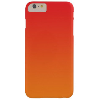 Red & Orange Ombre Barely There iPhone 6 Plus Case