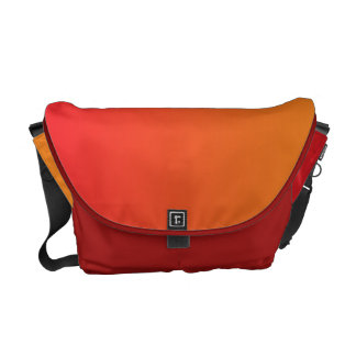 Red & Orange Ombre Courier Bag
