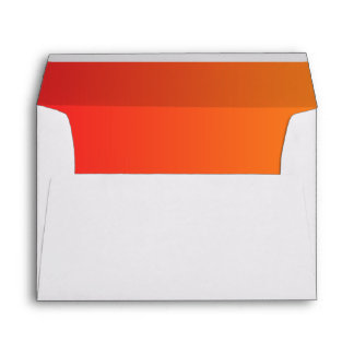 Red & Orange Ombre Envelope