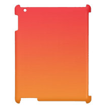 Red & Orange Ombre iPad Cover