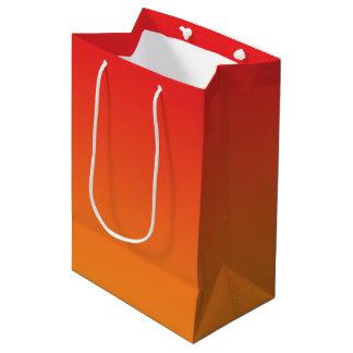 Red & Orange Ombre Medium Gift Bag