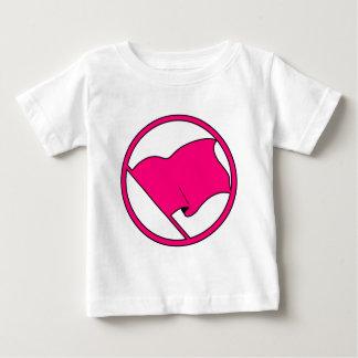 Red Orange Pink Flag Plain No Symbol Blank T-shirt