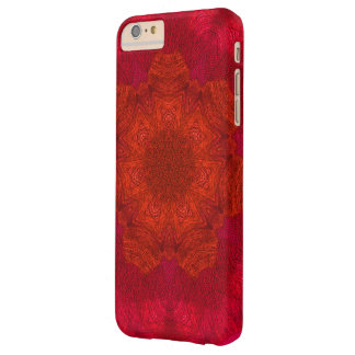 Red Orange Rich Colours Kaleidoscope Pattern Barely There iPhone 6 Plus Case
