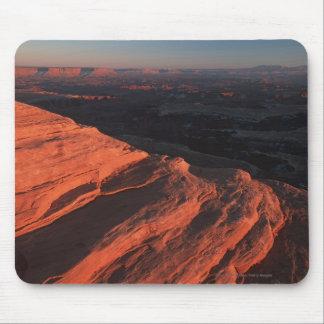 Red Orange Rock Side In Utah Mouse Pad