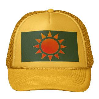 Red Orange Sun Hat