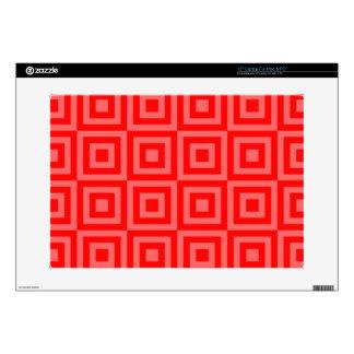 "Red Orange Tiles Skins For 15"" Laptops"