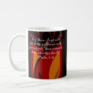 Red / Orange Tulip Mug Bible Verse
