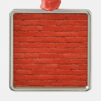 Red Orange Wall Metal Ornament