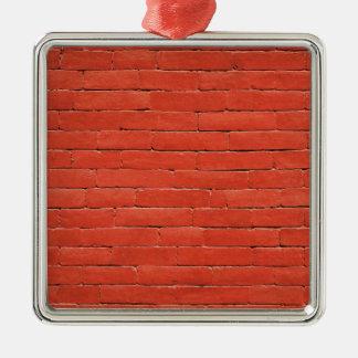 Red Orange Wall Metal Ornament