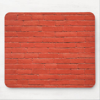 Red Orange Wall Mouse Pad