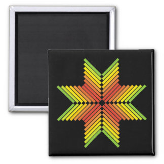 red orange yellow green colorful arrows refrigerator magnets