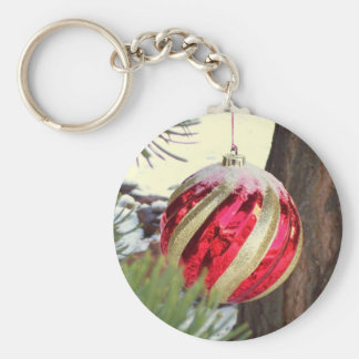 Red Orb Keychain