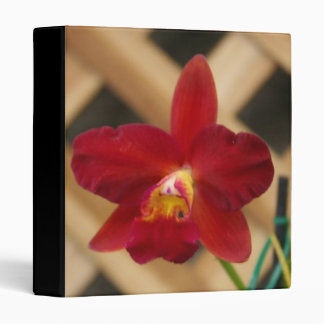 Red Orchid Binder