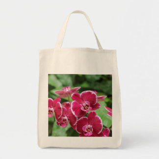 Red Orchid bloosom Tote Bag