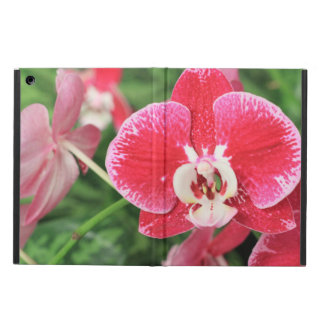 Red Orchid blossom Cover For iPad Air