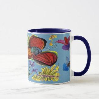 Red Orchid Mug
