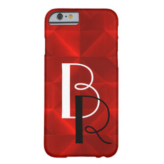 Red Origami with intials Barely There iPhone 6 Case