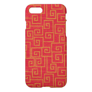 Red Ornament iPhone 7 Case