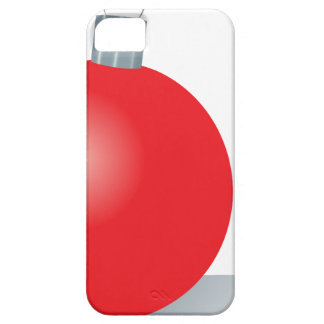 Red Ornament iPhone SE/5/5s Case