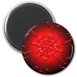 Red Ornament Magnet