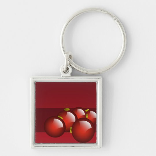 Red Ornaments Key Chains