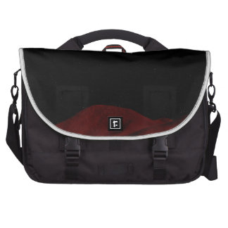 Red Outer Space Commuter Bag
