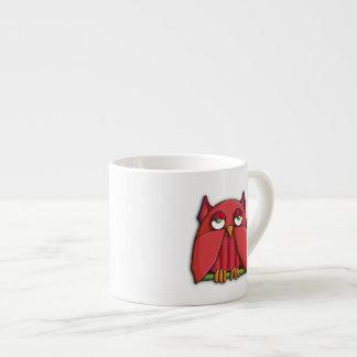 Red Owl Espresso Mug