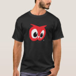 """Red Owl Food Stores - Black T-Shirt - Vintage Logo<br><div class=""""desc"""">Great t-shirt featuring the iconic vintage logo from Red Owl Food Stores.  A great nostalgic item that is sure to prompt conversation when you wear it.   RED OWL and the RED OWL fanciful head design are trademarks owned by SUPERVALU INC. or its subsidiaries and are used with permission.</div>"""