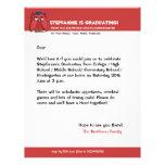 Red Owl Grad red Graduation Letterhead