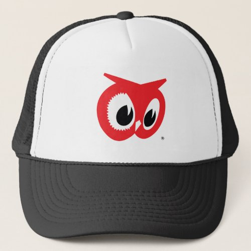 Red Owl Grocery Store Hat _ Vintage Trucker Style