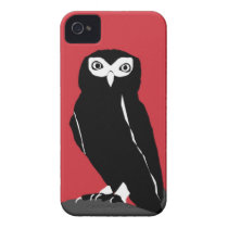 Red Owl iPhone 4 Case