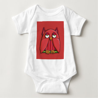 Red Owl red Infant T-shirt
