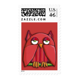 Red Owl red Stamp stamp