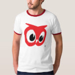"""Red Owl T-Shirt - Vintage Ringer Style<br><div class=""""desc"""">Great vintage-style ringer t-shirt featuring the iconic logo from Red Owl food stores. RED OWL and the RED OWL fanciful head design are trademarks owned by SUPERVALU INC. or its subsidiariers and are used with permission.</div>"""