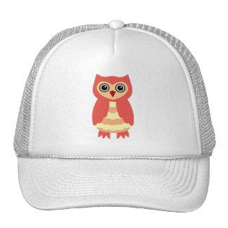 Red Owl Trucker Hat