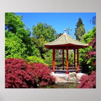 Red Pagoda Print