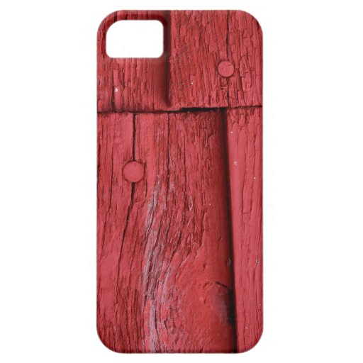 Red Paint iPhone 5 Cases