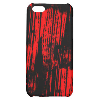 red paint trails case for iPhone 5C