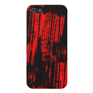 red paint trails covers for iPhone 5