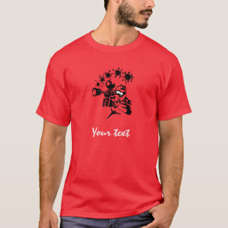 Red Paintball T-Shirt